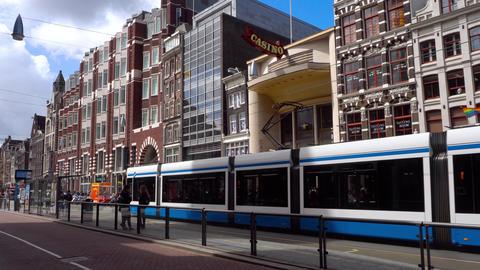 Street of Amsterdam scene Live Action