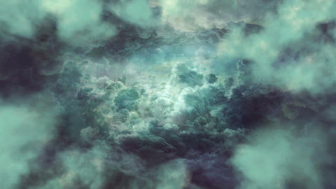 Gray Clouds Background CG動画素材