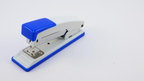 Stapler isolated on a white background フォト