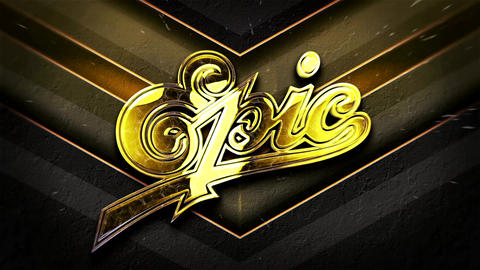 Gold Logo Intro After Effects Template