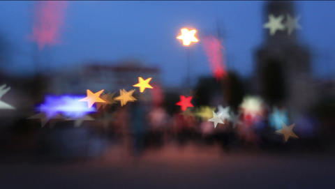 Bokeh Effect City Light 0