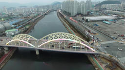 Gwajeonggyo Bridge Feb-10-2018 10 Footage