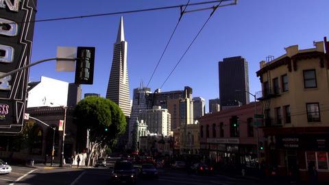 San Francisco famous buildings - SAN FRANCISCO, CALIFORNIA NOVEMBER 4,2012 Footage