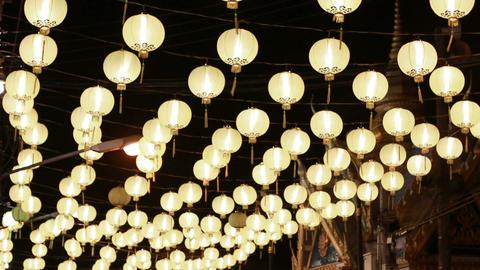 HD footage of Traditional Chinese New Year Lantern ภาพวิดีโอ