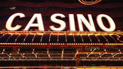 Las Vegas Casino light decorations - LAS VEGAS, NEVADA/USA Live Action