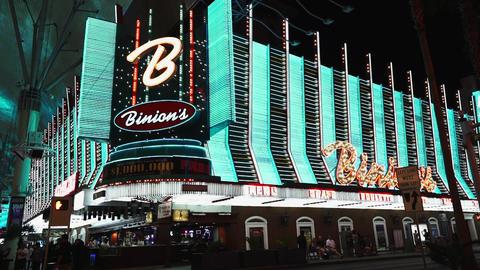 Binions horseshoe casino - LAS VEGAS, NEVADA/USA Live Action