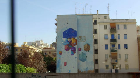 street art, Rome ビデオ