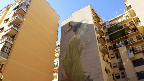 street art, Rome Footage