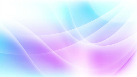 Abstract blue purple flowing waves video animation Animation
