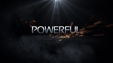 Powerful Logo Intro Plantilla de After Effects