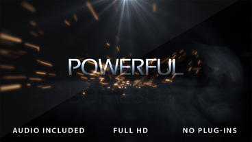 Powerful Logo Intro After Effects Template