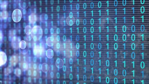 Binary data Animation