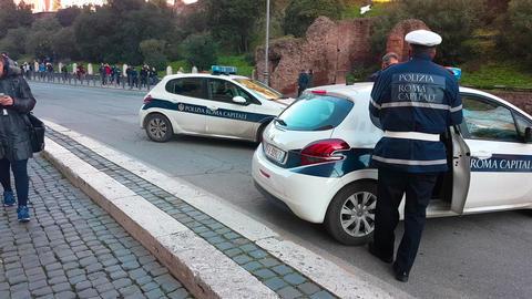 Rome Policeman Bild