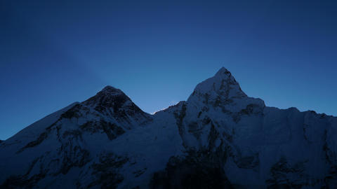 Sunrise over Everest Footage