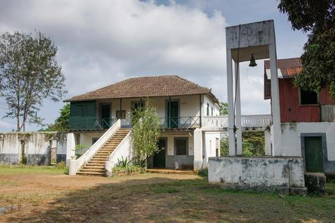 Old farmhouse, Sao Tome and Principe, Africa Fotografía