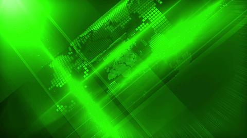 World background green Animación