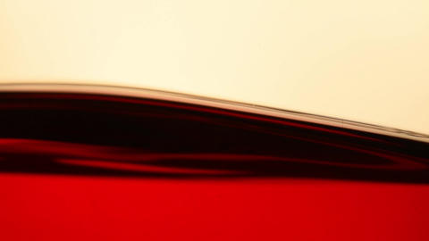 Black tea level surface in glass teapot close up 영상물