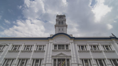Front view of Customs building (was Malayan Railway Building) Live Action