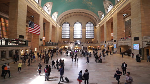 New York Grand Central station in Manhattan - MANHATTAN, NEW YORK/USA APRIL 25,  Live Action