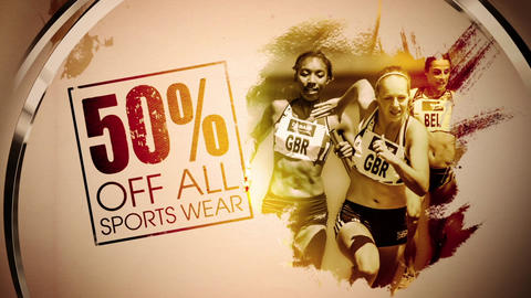 Sports Sale After Effects Template