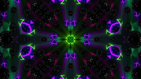 Kaleidospheres VJ Loop 2 Animación