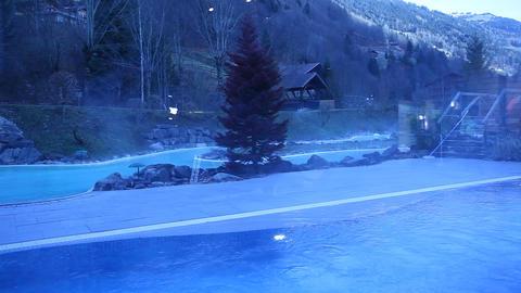 Holiday Resort House in Switzerland Footage