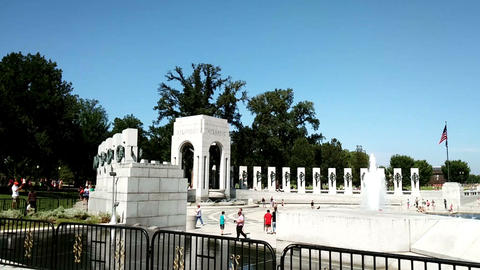 The panoramic view of National Mall, Washington Footage