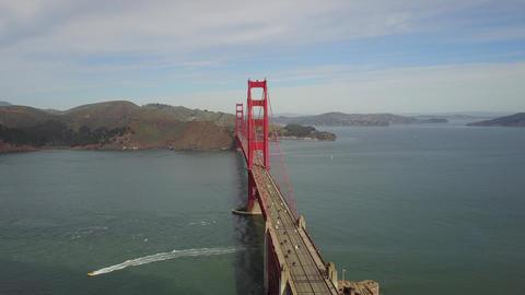 Golden Gate Bridge in SanFrancisco ビデオ