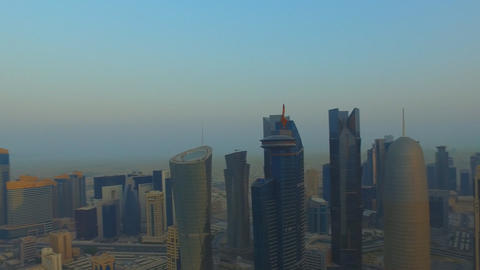 The Modern City Of Doha Qatar. 2