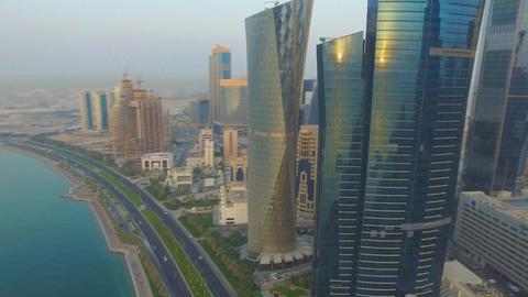 The Modern City Of Doha Qatar. 2