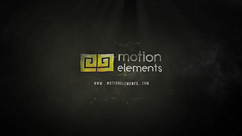 Cinematic Dark Matter Logo After Effects Template