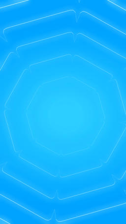 Abstract Blue Waves Loopable Vertical BG Video CG動画素材