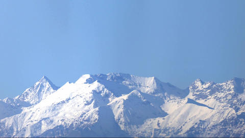 Alps mountains pan Live Action