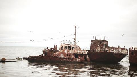 Old Abandoned Ships Archivo