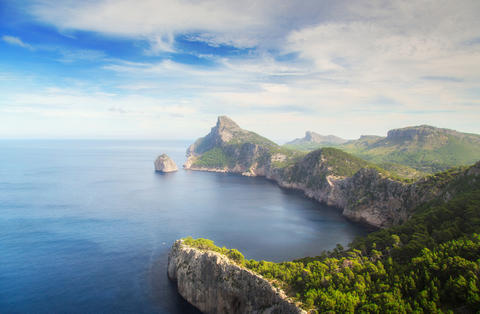Coast Formentor on Mallorca Photo