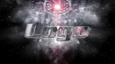 Spaceship Cinematic Logo Plantilla de After Effects