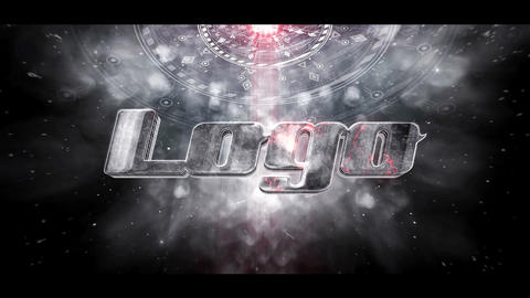 Spaceship Cinematic Logo After Effects Template