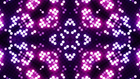 Red-blue led animated VJ background 画像