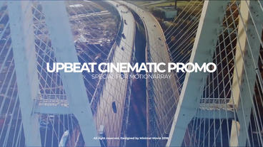Premier Upbeat Cinematic Promo Premiere Pro Template