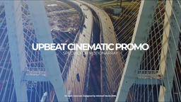Premier Upbeat Cinematic Promo เทมเพลต Premiere Pro