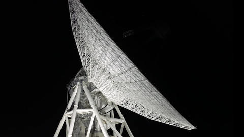 Scenery in which the parabola antenna is operating Image
