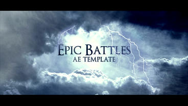 EPIC BATTLES After Effects Template