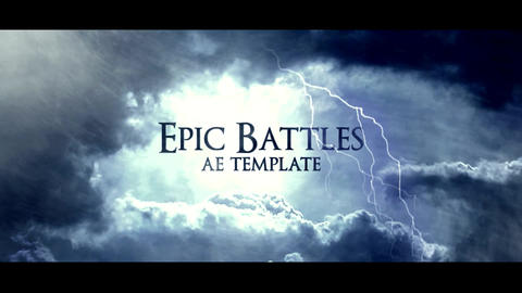 EPIC BATTLES After Effectsテンプレート