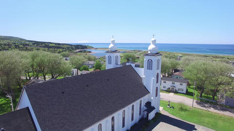 Inverness, Cape Breton, Nova Scotia- Stella Maris Church 영상물