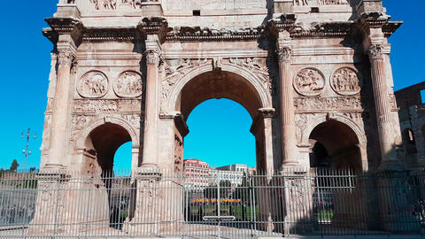 Arch of Constantine Hyperlapse Live Action
