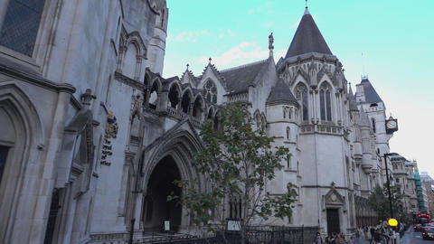 The Royal Court of Justice London - LONDON, ENGLAND Live Action