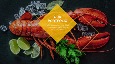 Restaurant & Cafe Promo After Effects Template