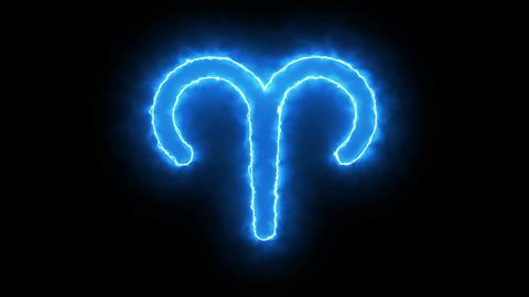 3d rendering Zodiac symbol. Digital background 画像