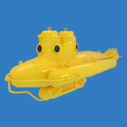 Submarine Modelo 3D