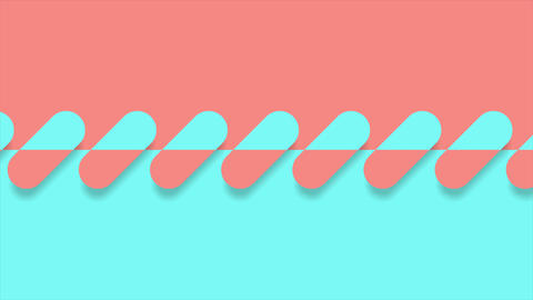Abstract geometric minimal video animation Animation